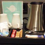Coffee maker in RoomMate Gerard Suite