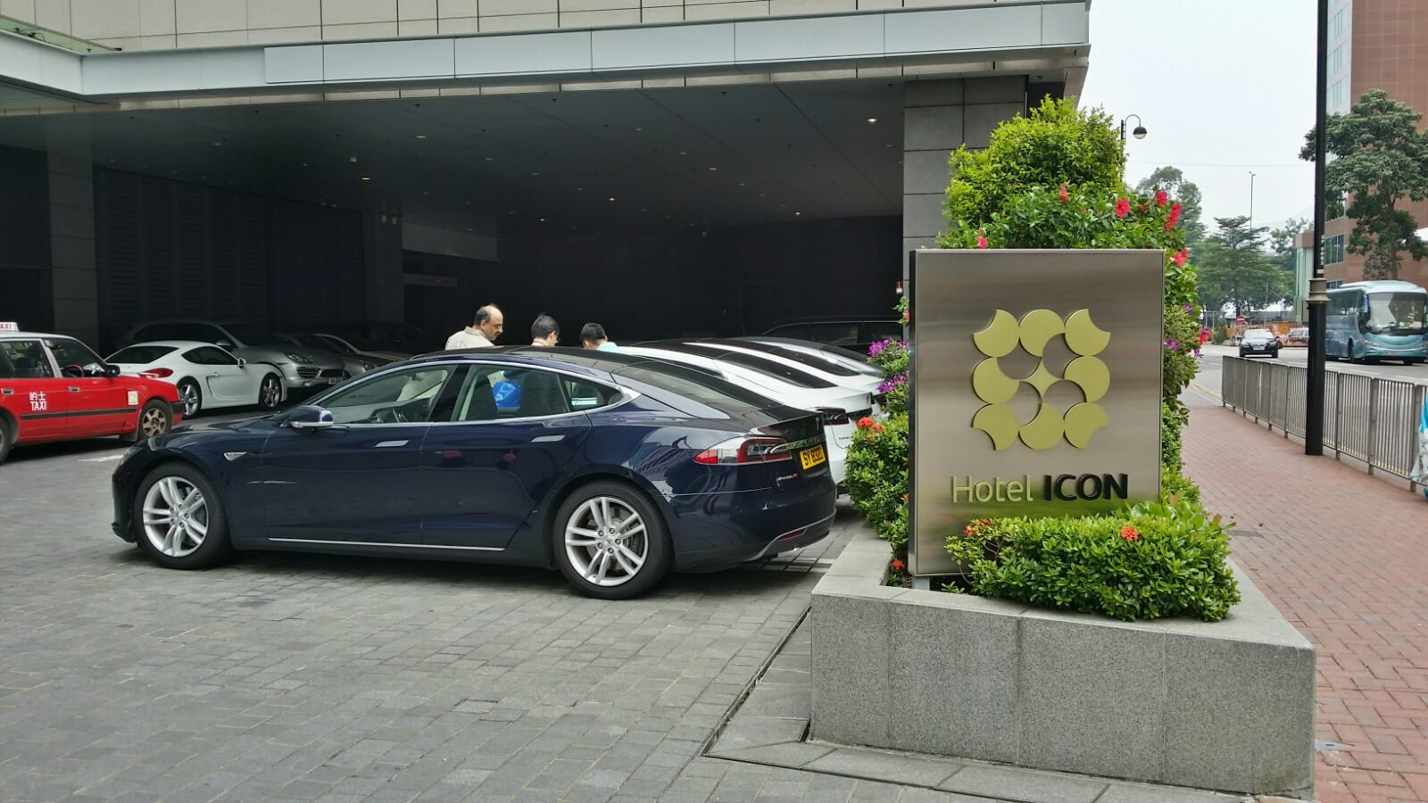 Hotel Icon Hong Kong entrance
